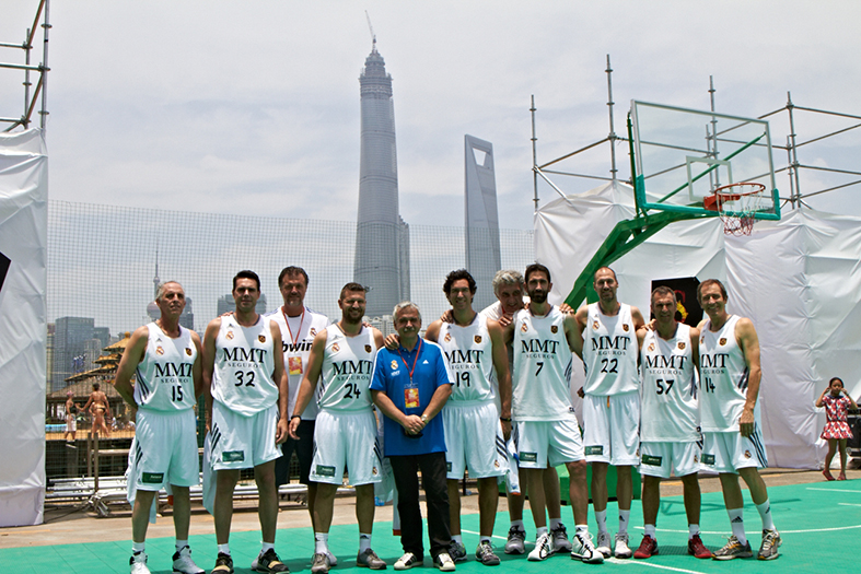 Veteranos Real Madrid Baloncesto